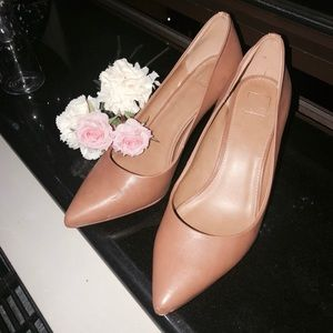 14th & Union real leather camel classy pumps heels